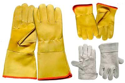 Fabrica de guantes de carnaza