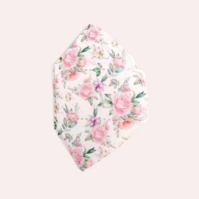 Tapabocas T N95 flores rosadas catalogo sonata tapabocas