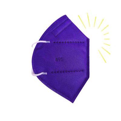 Tapabocas T N95 morado vibrante catalogo sonata tapabocas